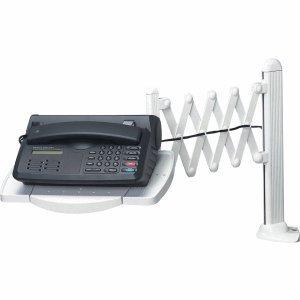 """Preisvergleich Produktbild Maul 8313282 Telefon-Scherenarm """"elegant"""" mit Multifunktions-Platte grau"""