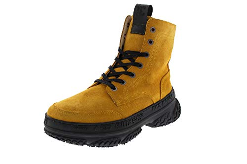 official photos b4265 4f0d9 Yellow Cab Shoes - Sneaker Dakota 8-d Yellow Suede, Size:7.5 UK