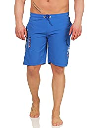 da4afb9658 Geographical Norway Herren Badehose QUARACTERE Badeshorts Bermuda Short Men