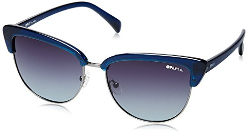 eb4369b2b000 Opium Polarized Cat Eye Women Sunglasses Op 1415 C04 57 Smoke Lens Op 1415  C04