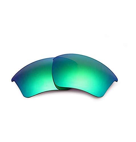 AOKELIS Polarisierte Ersatzgläser für Oakley Half Jacket 2.0 (Grün)