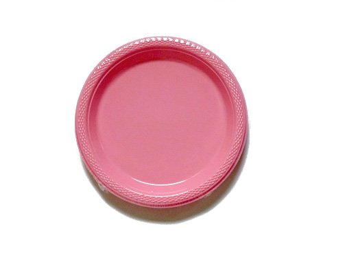 (Amscan International 552284–06Teller Kunststoff 17,5cm-scplate Plas 17,7cm: pretty pink)