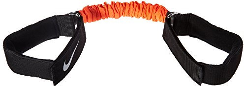 Nike Erwachsene LATERAL Resistance Bands - Heavy Resistenzband, Black/Total Orange/White, One Size