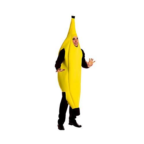 ZYCX123 Banana Kostüm Leichtgewichtler Halloween-Kostüm lustige Nahrungsmittel verkleiden Rollenspiele Cosplay