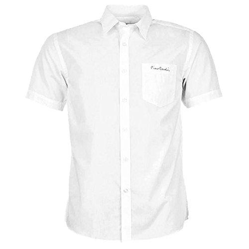 pierre-cardin-chemise-manches-courtes-homme-blanc-xxl