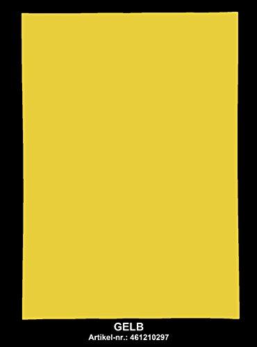 Format Tinte Gelb (Selbstklebendes Farbpapier Multicut Vellum 100 St, A4 Format, Gelb)