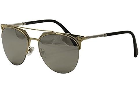 Versace Sunglasses VE2181 12526G Pale Gold 57-18-140