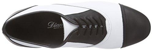 Diamant Herren Tanzschuhe, Chaussures de Danse de Salon Homme Mehrfarbig (Schwarz/Weiß)