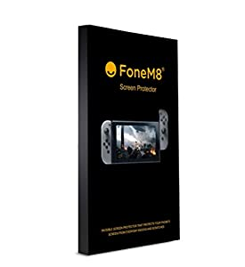 FoneM8 Tempered Glass Screen Protector for Nintendo Switch