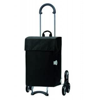 Andersen Shopping trolley Scala with bag Hera black, Volume 44 Liter, steel frame and Stair-climbing wheels