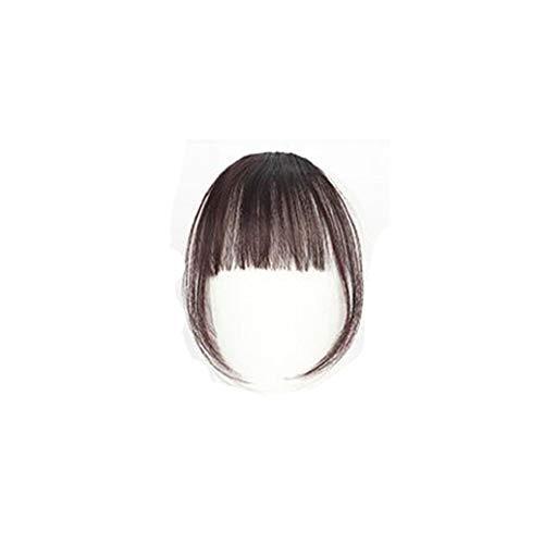 Carry stone Hübsche Mädchen Clip auf Clip im vorderen Haar Bang Fringe Haarverlängerung Stück dünne hohe Qualität -