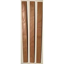 SCM Créations Lot de 3 Lattes de 560/53/8 56 cm pour clic clac bz sommier Cadre
