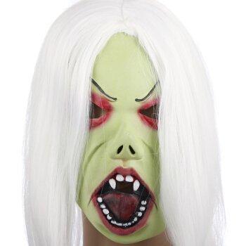 il Fool's Konsolidierung von Spielzeug Maskerade Masken - mehr Terror die Braut mit dem weißen Haar weißes Haar ohne Blutvergießen, Masken Jung-ja Masken (Maskerade-masken Für Jungs)