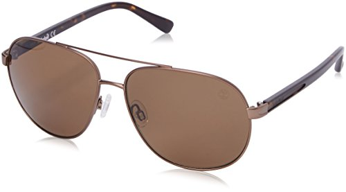 Timberland Men's TB9076 Polarized Aviator Sunglasses