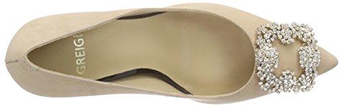 Primafila 97.3.004, Chaussures à talons - Avant du pieds couvert femme Beige - Beige (Deserto)