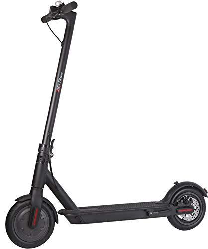 Trotty 6600 Elektroroller Scooter (250 Watt, 24 km/h, max. 15 km, 6.600 mAh Li-Ion Akku, Luftreifen; bis 120 kg) schwarz
