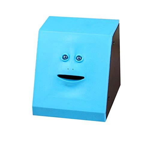 Geld Essen Face Box Nette Facebank Piggy Coins Bank Lustige Geld Münze Sparkasse Kinder Spielzeug Geschenk Dekoration YAHALOU