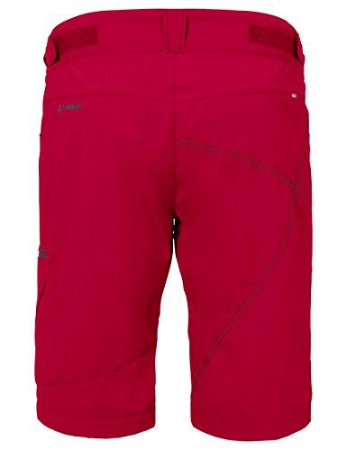 VAUDE Tamaro - Short Homme Rouge clair