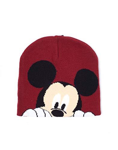 Preisvergleich Produktbild Mickey Mouse Beanies Disney Magic Jacquard Beanie Brown
