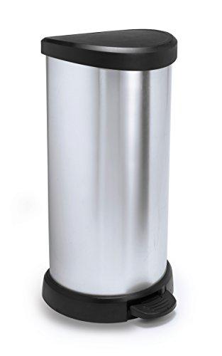 CURVER 184106 - Cubo de Basura con Pedal 40 L