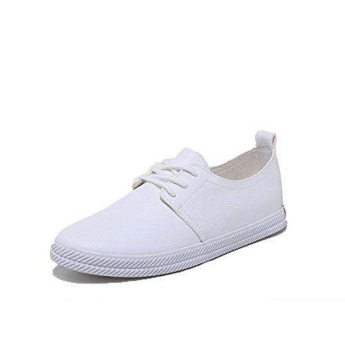 Scarpe Casual Tomaia In Pelle Di Moda White