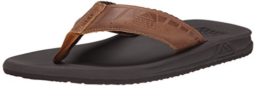 Reef Phantom Le, Men Flip Flops, Brown (Brown/Tan), 8 UK (42 EU)