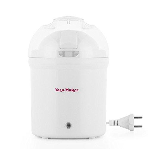 yogur Maker Máquina de yogur yogurtera–Delicioso yogur Incluso fabricado, su gusto y con sus ingredientes favoritos