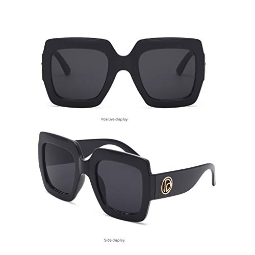 f2080e019a Mymyguoe Gafas de Sol Grandes Dama Gafas de Sol Mujeres Vintage Gafas de  Sol Retro Gafas