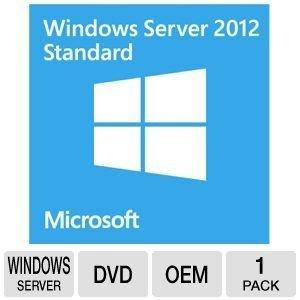 Systembuilder Windows Server Standard 2012 x64 Englisch 1pk DVD 2CPU/2VM / ACHTUNG: keine CAL enthalten!