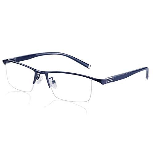 JLBao Sonne Lesebrille, Bifokal Sonnenbrille Sehhilfe, Progressive Multi-Power-Mehrfachfokussierung,Asphärisch Verfärbung