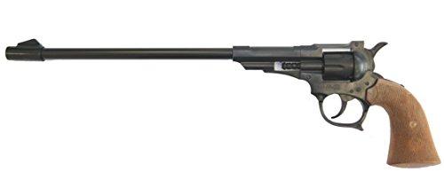 Holster Cowboy Kostüme Gun (EDISON E0156/74 - Long Boy, 39 cm, 8 Schuss Pistole Western,)