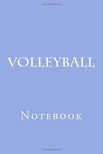 Volleyball: Notebook por Wild Pages Press