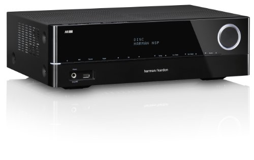 Harman Kardon AVR 161 5.1 Audio/Video Receiver (85 Watt, 5X HDMI, Internetradio, DLNA 1.5, Bluetooth, USB) schwarz (Harmon Audio-receiver Kardon)
