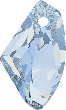 Swarovski Anhänger Elements Galactic 19.0mm (Crystal-Blue Shade), Restposten, 1 Stück
