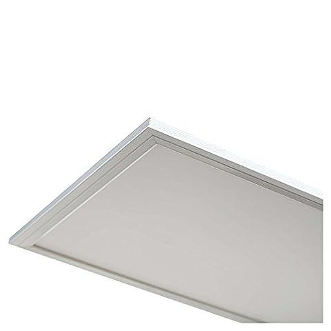 LEDUS LED Panel Lampe 40W, 300 x 1200 (Tageslicht Weiß), hochwertig, Weiß (Energieeffizienzklasse