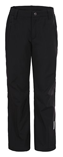 ICEPEAK Kinder Softshell Trousers Sal JR Hose, Schwarz, 164