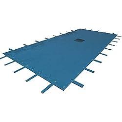 Bâche 6x10m pour piscine rectangulaire 140g/ m²