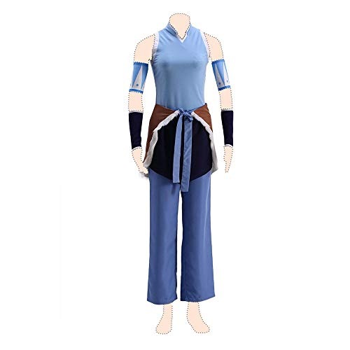 Dream2Reality The Legend of Korra Cosplay Kostuem Korra Coat XX-Large