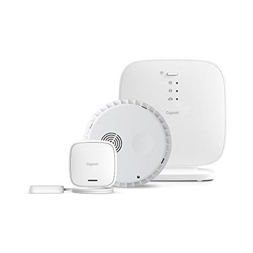 Gigaset Alarm-Set aus Rauchmelder und Wassermelder - vernetzbar mit intelligenter App-Steuerung -...