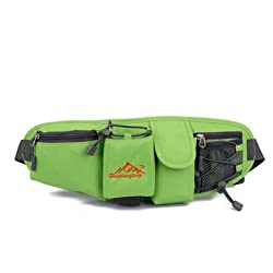 Generic Portable Multifunction Bottle Carrier Portable Out-door Waist Bag Sports Pack Bag Storage Phone Bag