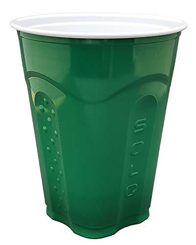 Solo kariert Tassen, 18oz, grün, 60 Cups