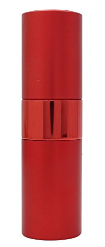 1 Pc rouge vider pulvérisation en verre transparent Vaporisateur Bouteilles rechargeables Huile Essentielle gros Boston Round Perfume Bottle