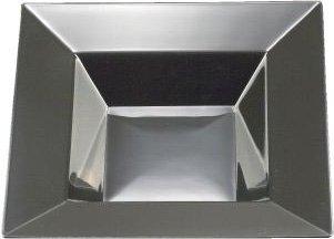 (EMI Yoshi Square Soup Bowls, 12-Ounce, Black, Set of 10 by EMI Yoshi)