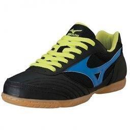 Mizuno , Chaussures pour homme spécial foot en salle Noir Nero Noir - Nero/Azzurro/Lime