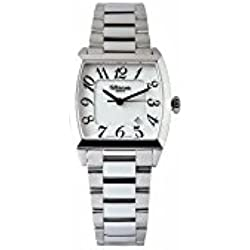 Woman wrist watch rectangular steel ALTANUS 16105B-W