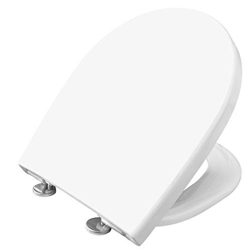 Cornat WC-Sitz PREMIUM 6 weiß / Toilettensitz / Toilettendeckel / Klodeckel / WC-Deckel / Absenkautomatik / Duroplast / KSPREMSC600