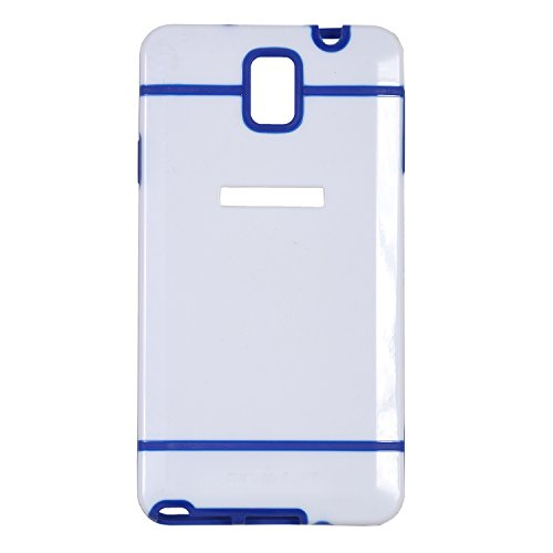 iCandy™ Dual Tone Hard PC Back Cover For Samsung Galaxy Note 3 N9000 - Blue  available at amazon for Rs.99