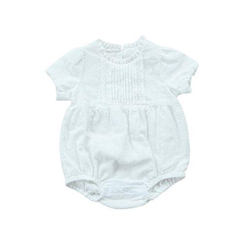 Byqny SommerKleidung Strampler Nachtwäsche Spielanzug Outfits Bekleidung Kleinkind Baby Mädchen Overalls Stück Hosen Rompers Jumpsuits