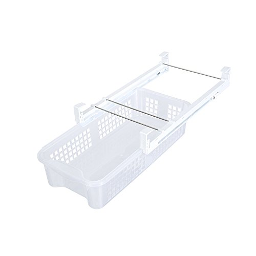 Kühlschrank Korbset Schublade,Transparent, Kühlschrank Aufbewahrungsbox Ablagefach, platzsparender Organizer aus Kunststoff für Küche