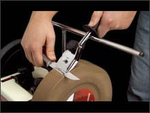 10 Vorrichtung (JET JSSG-10 Zubehör - Vorrichtung für Messer)